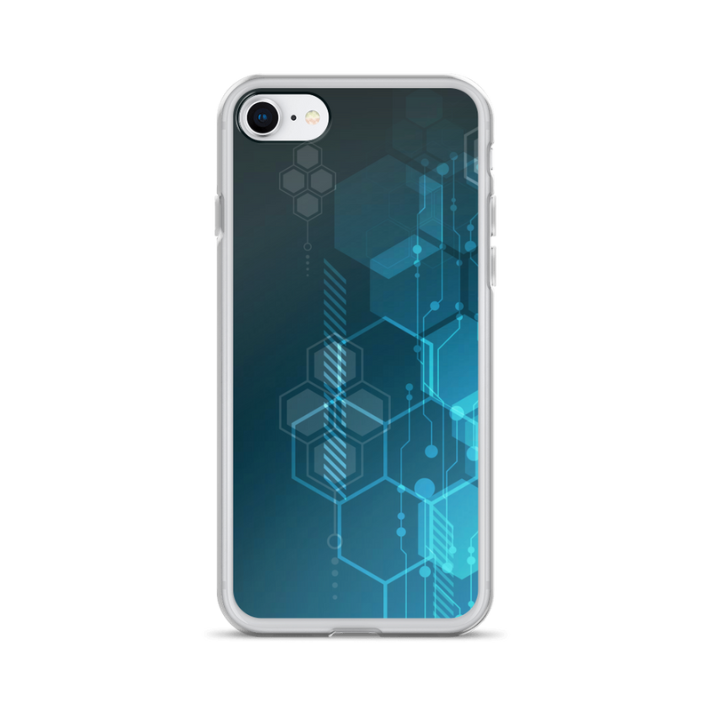 Hexagonal Movement - iPhone Case