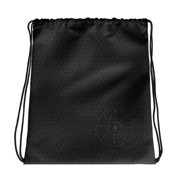 Hexagon HD - Fixed Drawstring bag