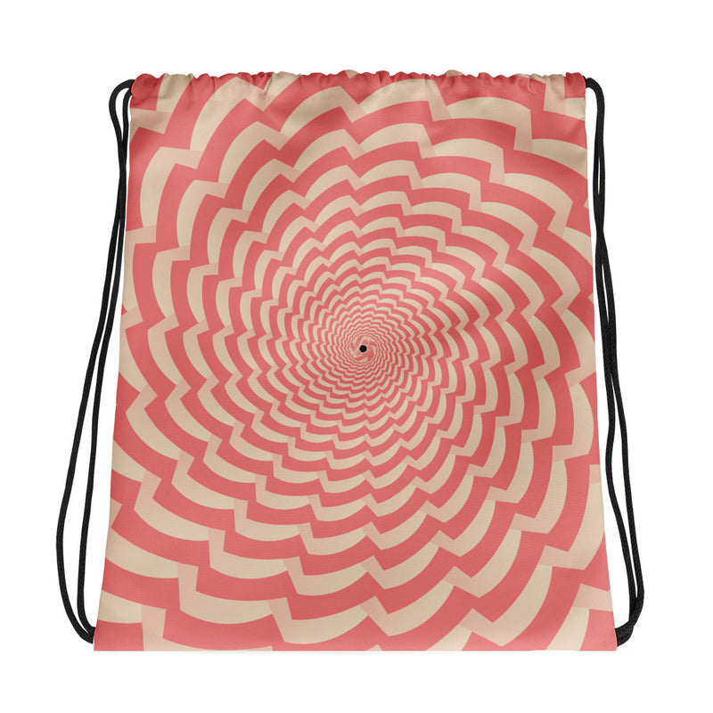 Hypnotic Drawstring bag