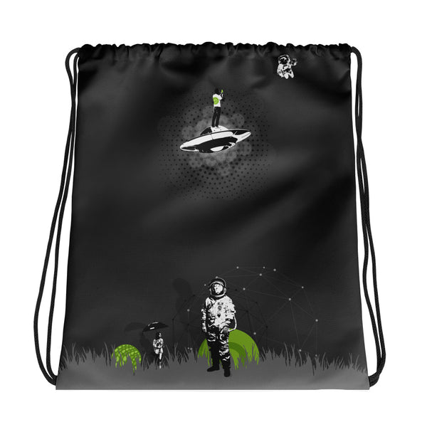 Coming Home Drawstring bag