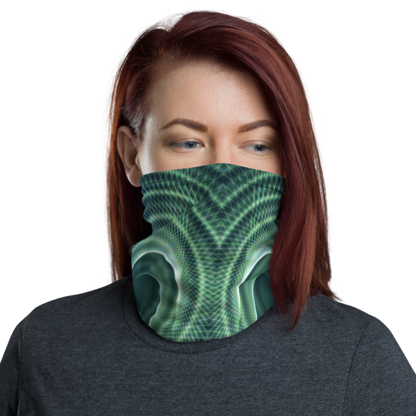 Green Spiral Dust Mask