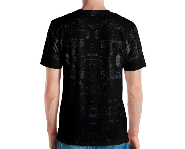 SIRIUS - ALL-OVER PRINT Men's T-shirt