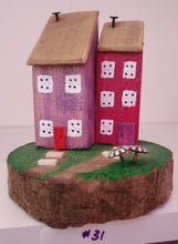 Load image into Gallery viewer, Mini wooden houses