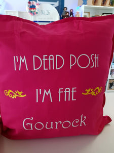 Dead Posh Cushion