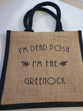 Load image into Gallery viewer, Slogan Dead Posh Bags