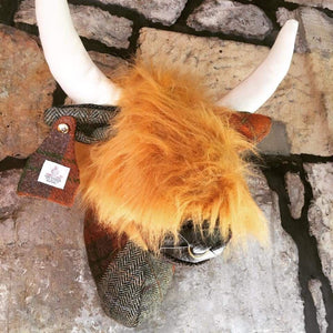 Harris Tweed Highland Coo