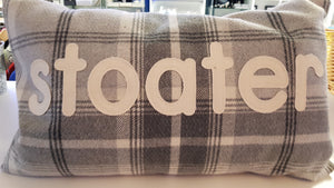 Stoater Tartan Cushion