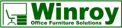 Winroy Office Furniture Solutions (Winroy Ltd.) green and white logo