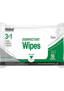 Medipal 3in1 Wipes, Pack of 50