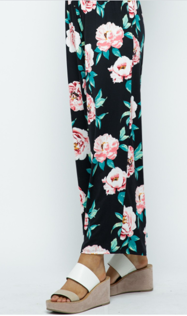 Winter Garden Soft Palazzo Pants
