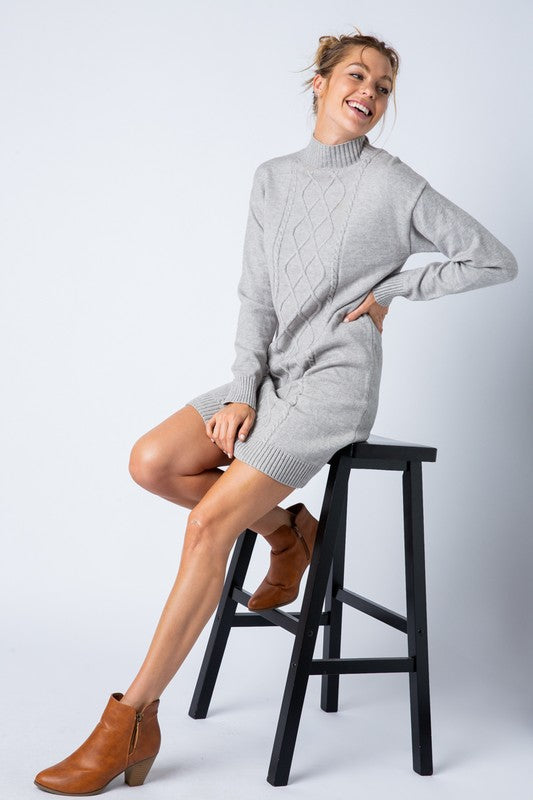 Molly Cable Knit Dress