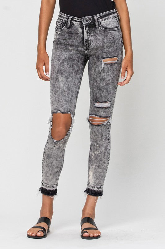 Morning Light Distressed Jean