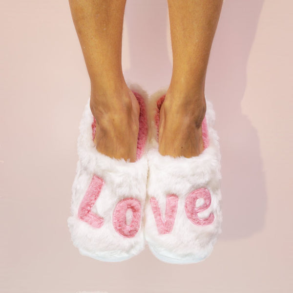 Faceplant Dreams - Love - Classic Slippers