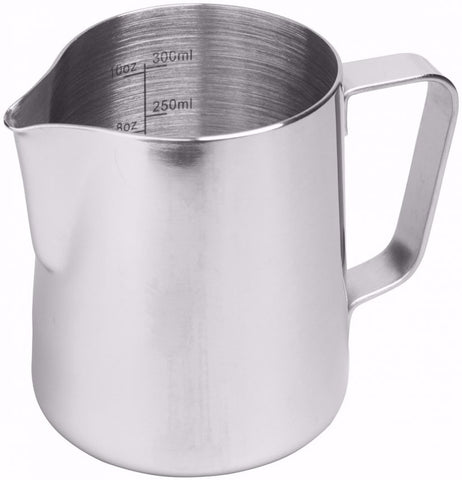 Rhinowares Professional Milk Pitcher - STAINLESS STEEL (RVS)