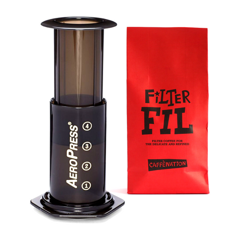 Cadeau - Aeropress Pack (with Filter of the week 250gr)