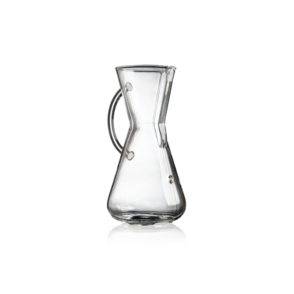 Chemex 3-CUP Coffee Brewer (GLASS HANDLE)