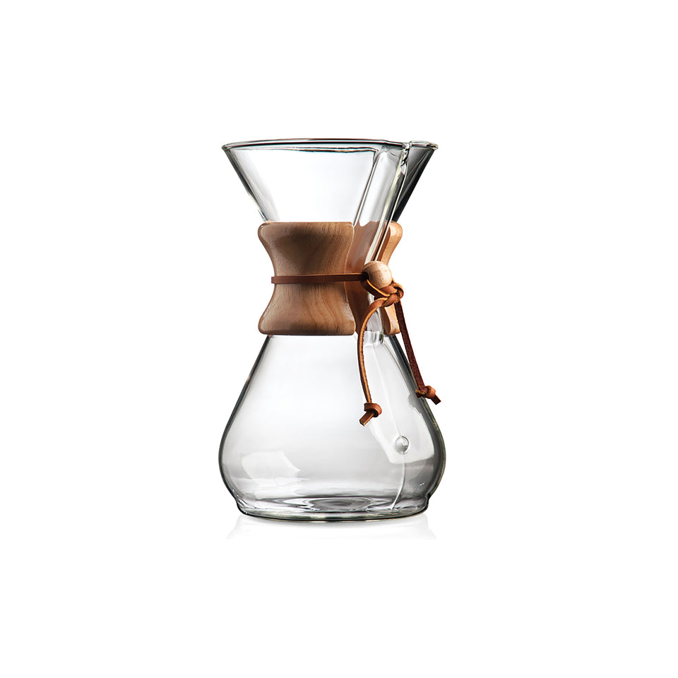 Chemex 6-CUP Coffee Brewer (WOODNECK)