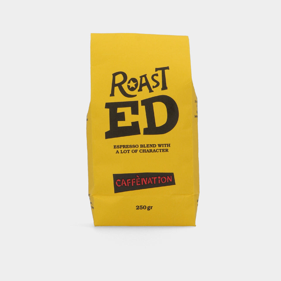 Roast ED Espresso Blend - grinding possible