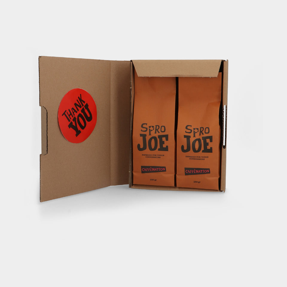 ESPRESSO COFFEE SUBSCRIPTION - COURIER DELIVERY (B & NL & DE)