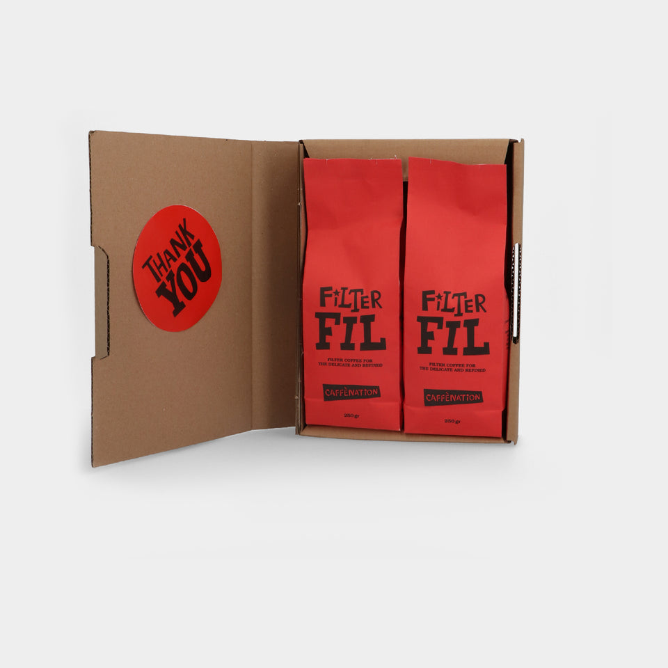 FILTER COFFEE SUBSCRIPTION - COURIER DELIVERY (International)