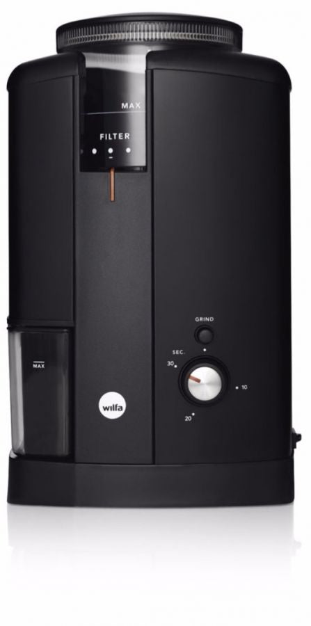 Wilfa Svart Aroma Electronic Grinder CGS-130(black) - with free test coffee bag