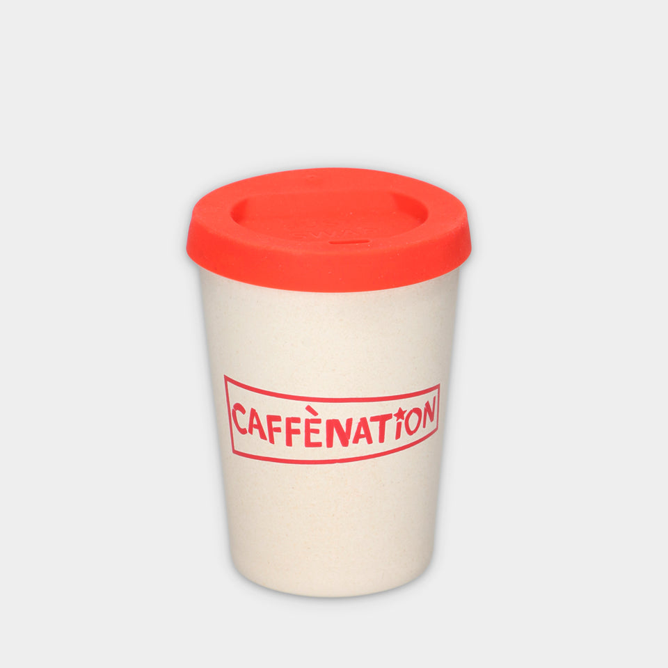 Caffènation styled re-usable ECO-CUP (2 sizes)