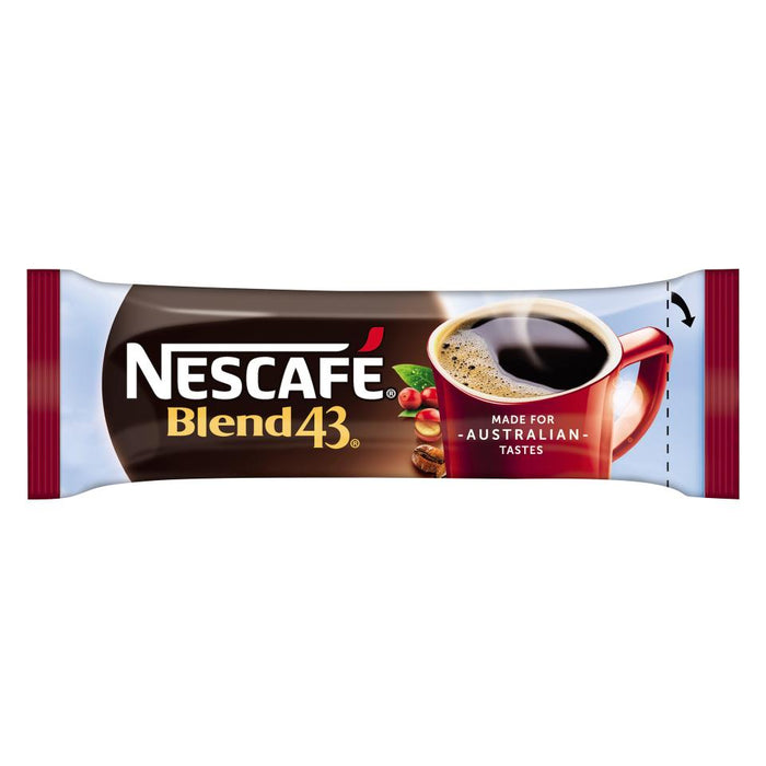 Nescafe Blend 43 Instant Coffee Sticks 1.7g Carton of 1000