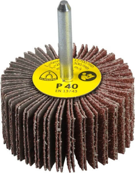 Klingspor Spindle Flap Wheel 80 Grit 60mmx30mmx6mm x 30 x 6mm -