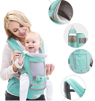 BabyMello™ Ergonomic Hipseat Baby Carrier