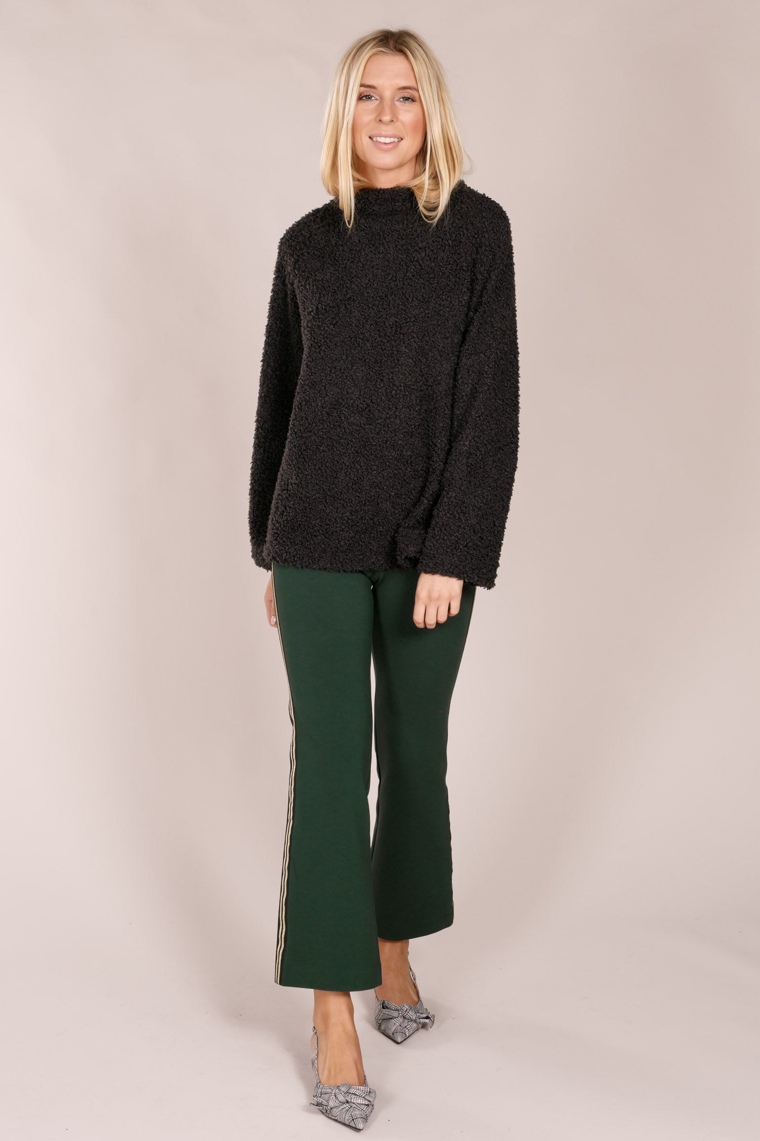 Montae flared pants - Green