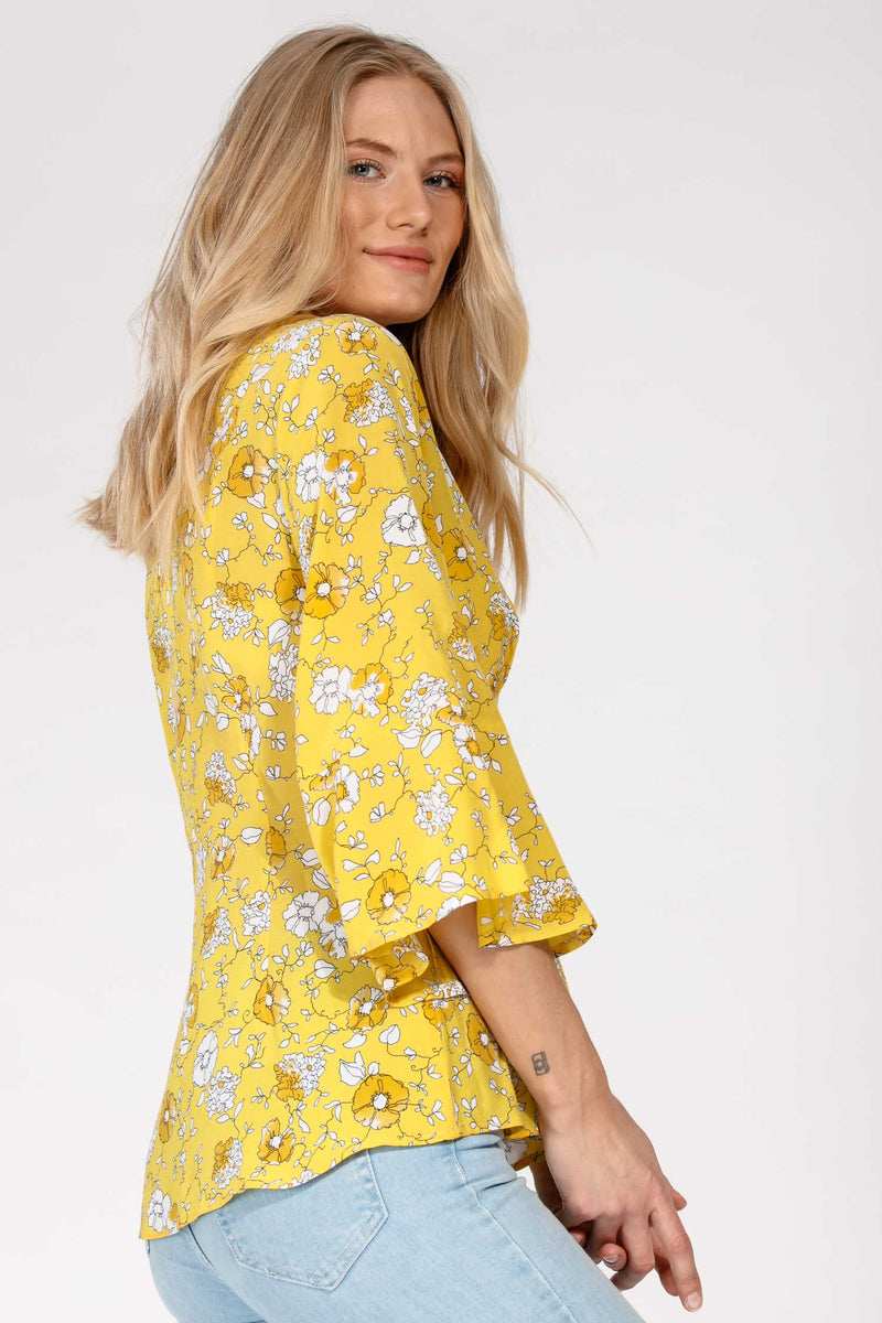 Yellow mellow blouse - Yellow