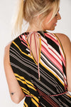 Pixie halterneck dress - Multi