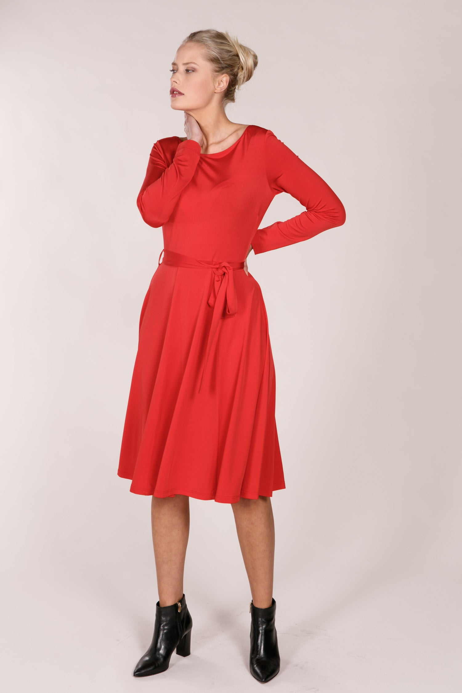 Paris dress - Red