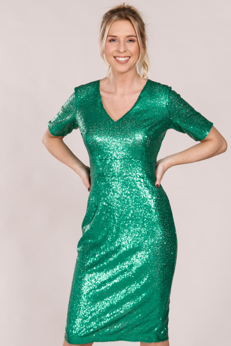 New york dress - Green