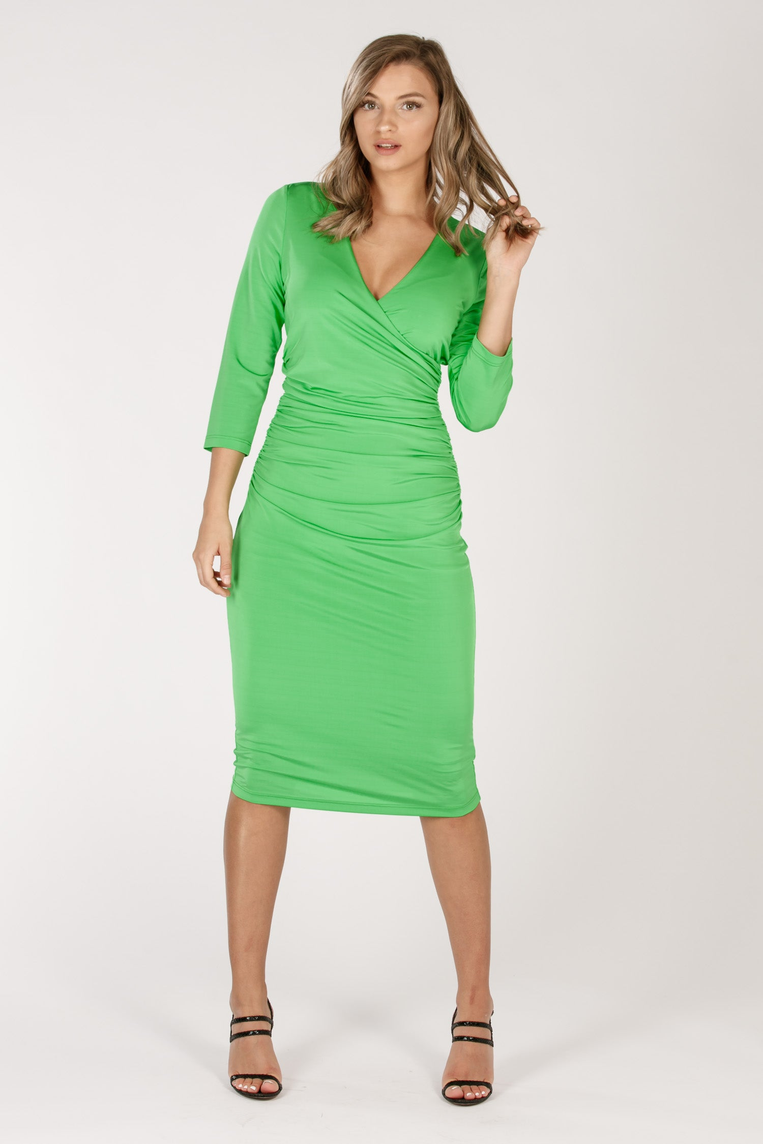 Madrid dress - Avocado