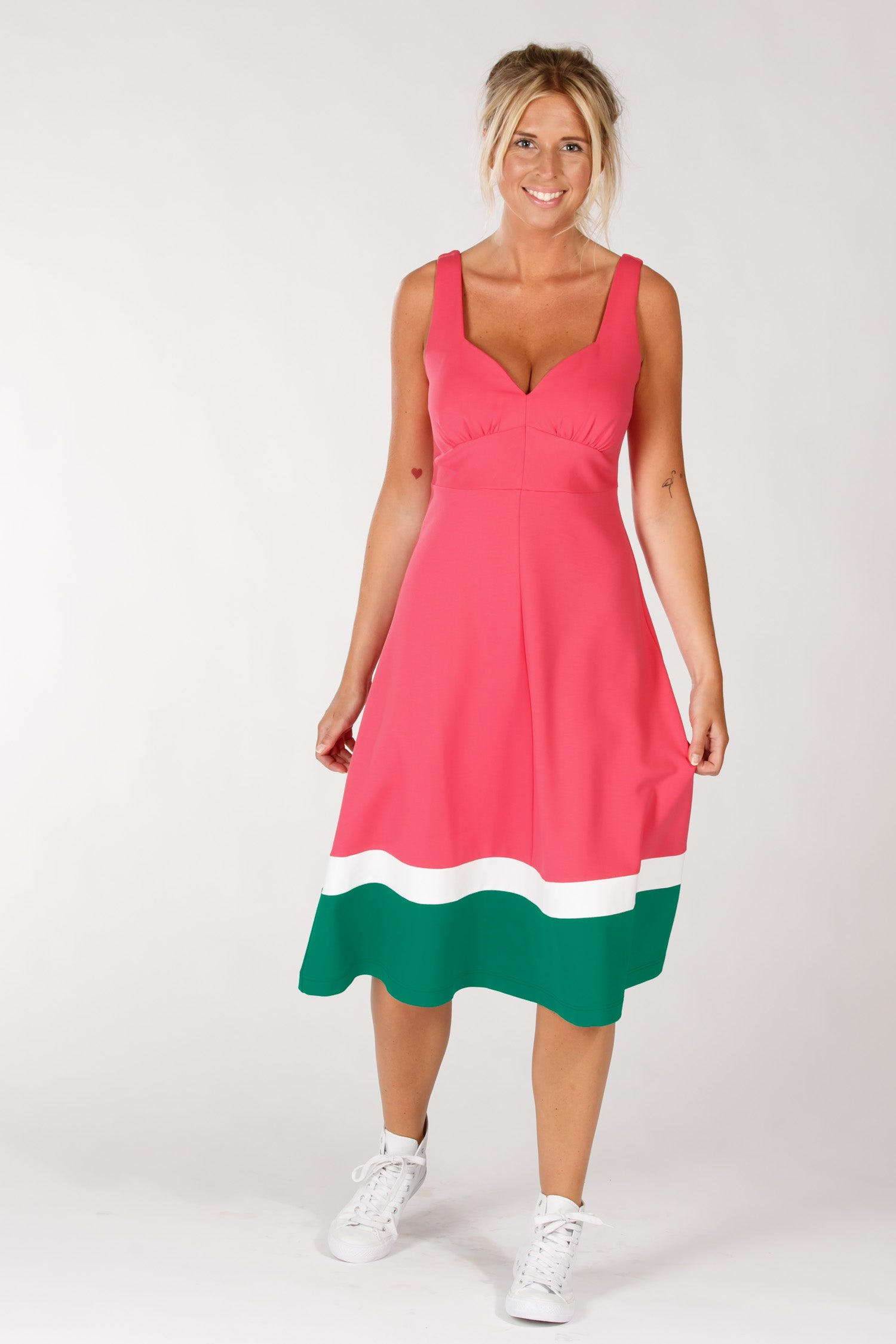 Watermelon dress - Red