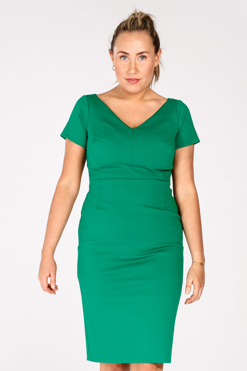 Cannes dress - Emerald