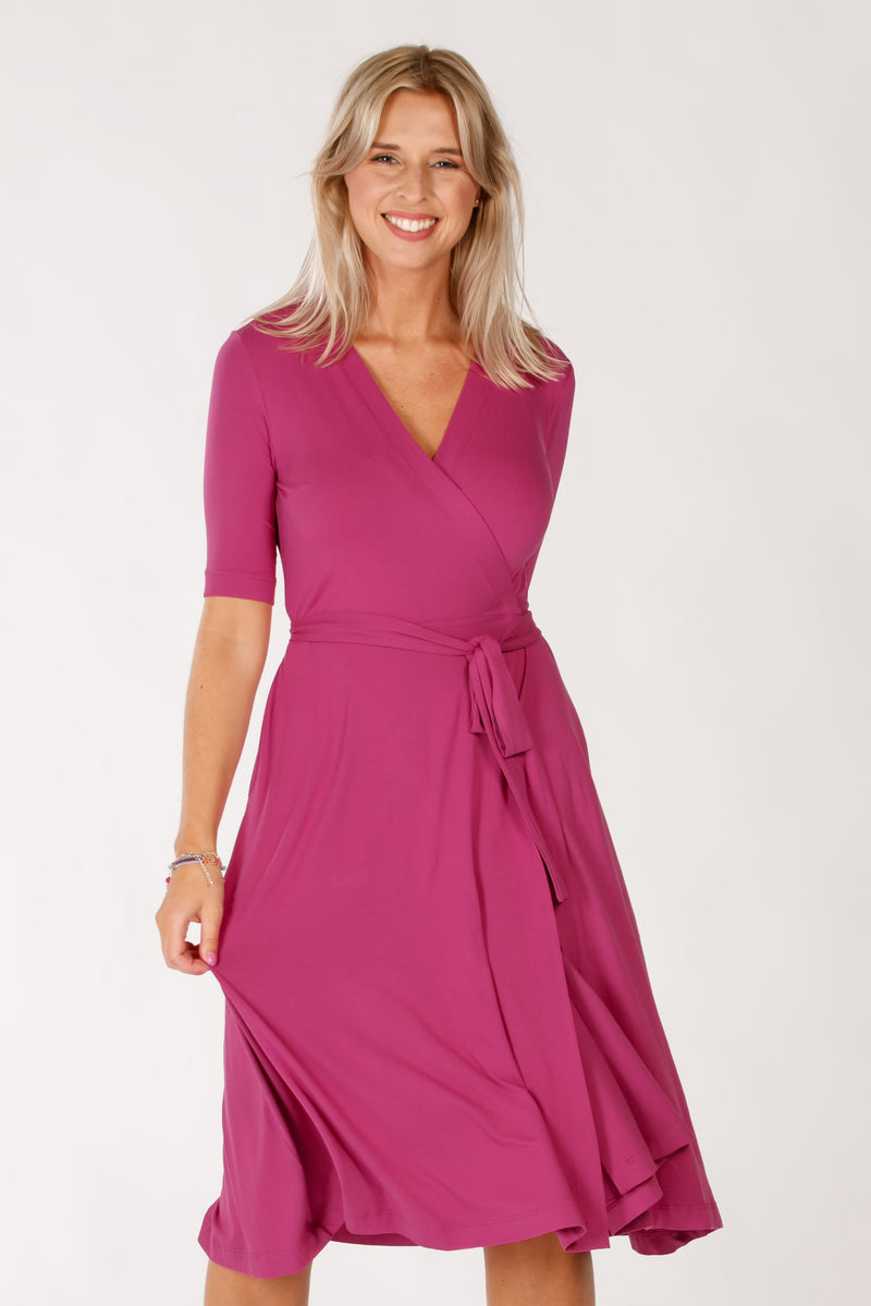Wisby dress - Grape