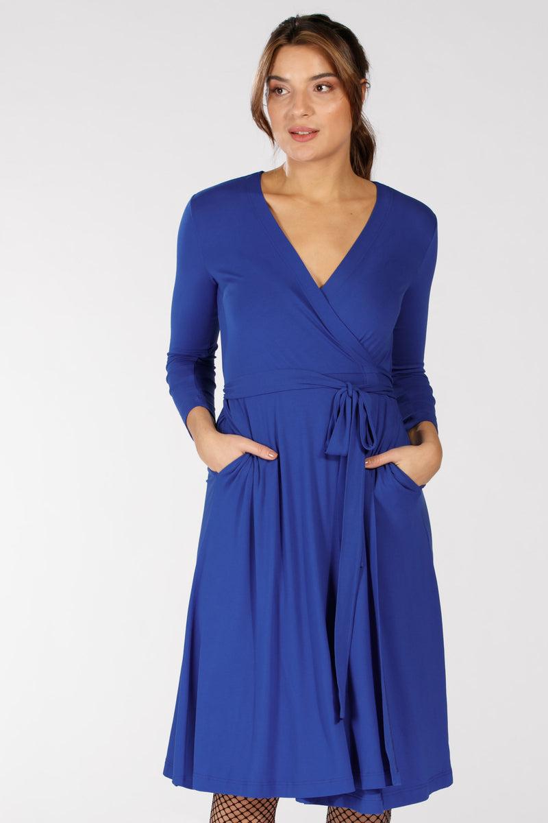 Wisby dress - Electric blue