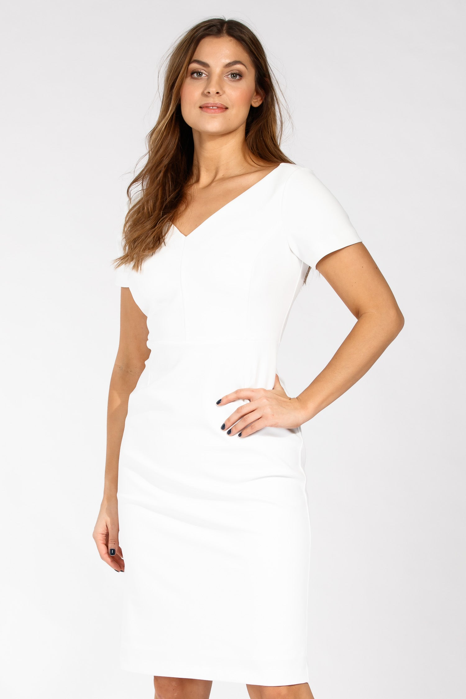 Cannes dress - White