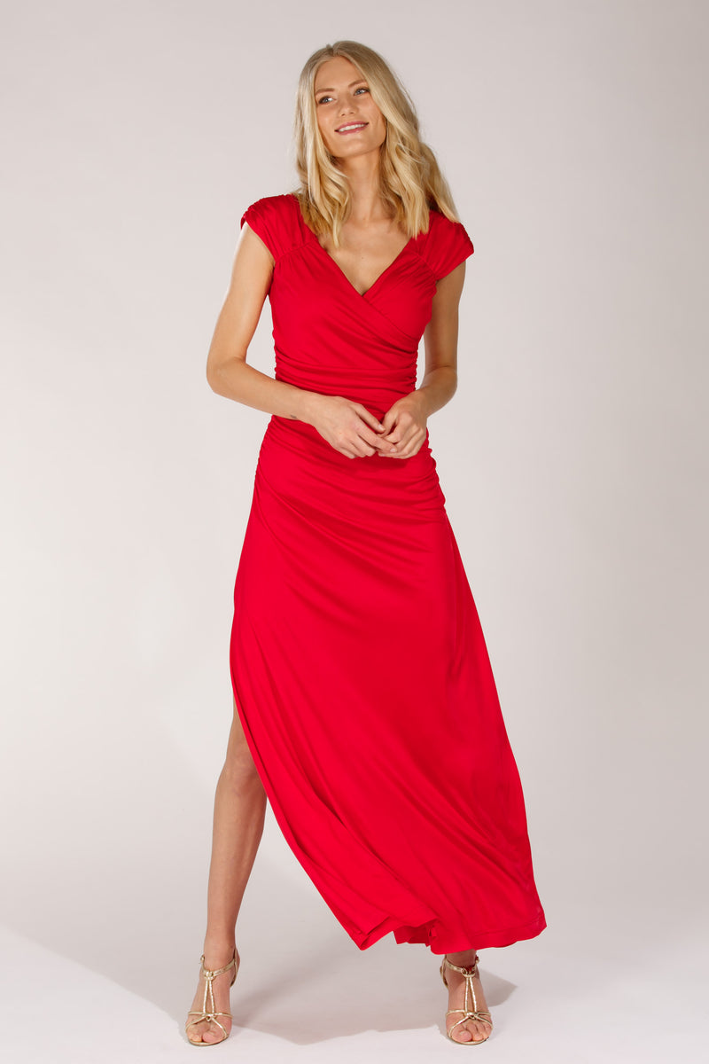 LA long dress - Red