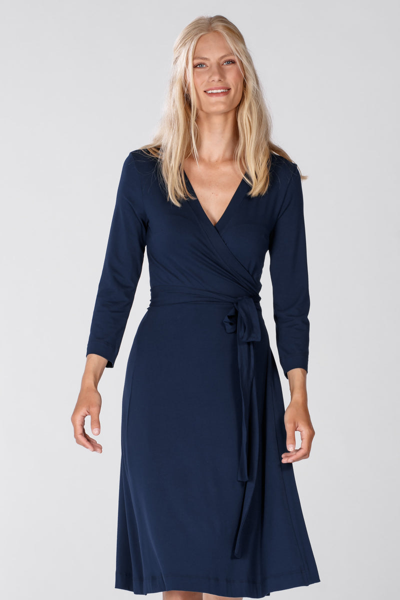 Kerstin dress - Dark blue