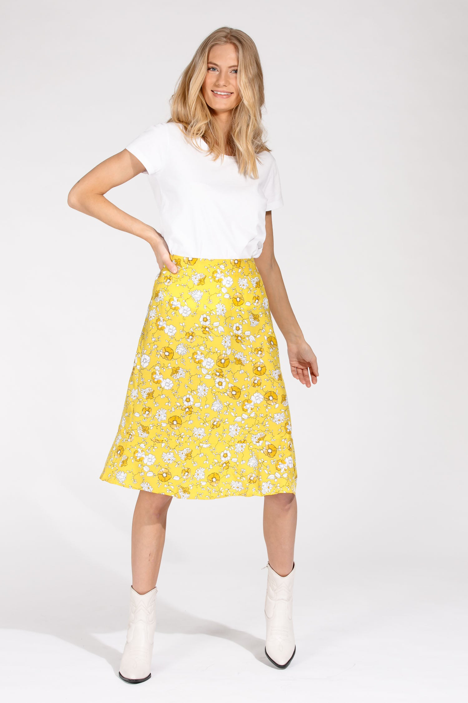 Yellow mellow skirt - Yellow