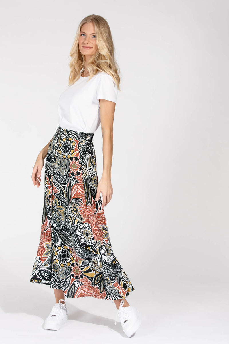 Mandala long skirt - Multi