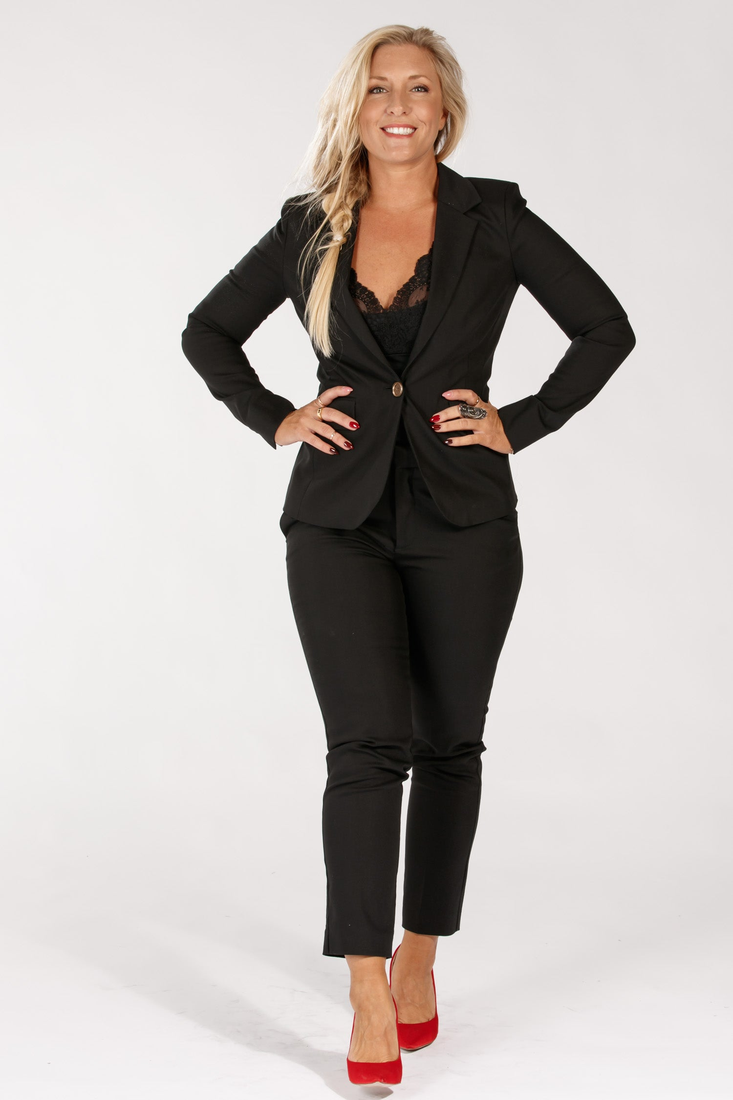 Pure suit jacket - Black