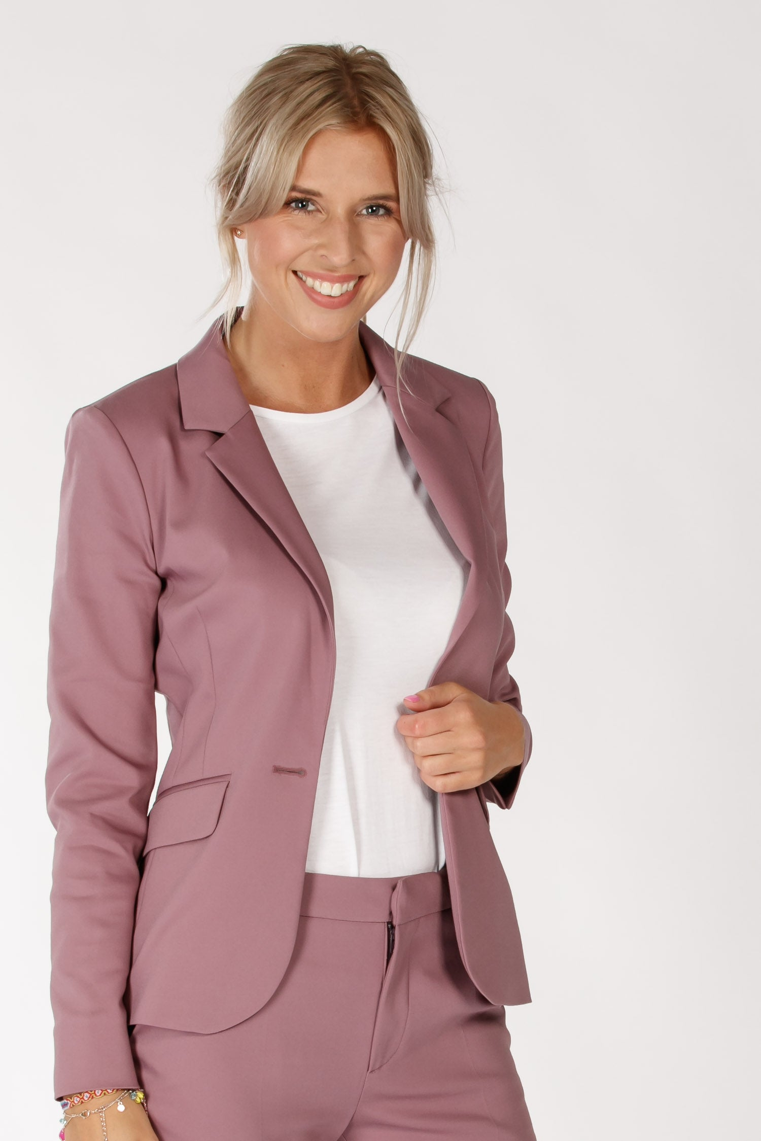Pure suit jacket - Mauve