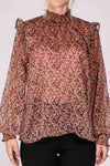 Sisters blouse - Rust