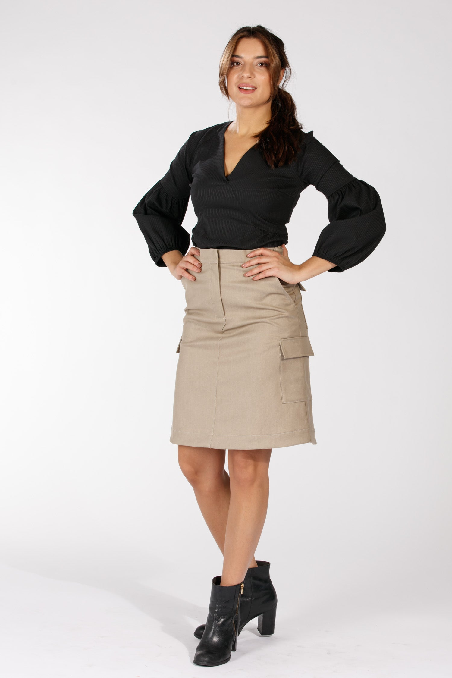 Kit skirt - Khaki