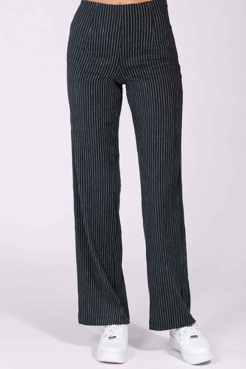 Bost linen trousers - Navy