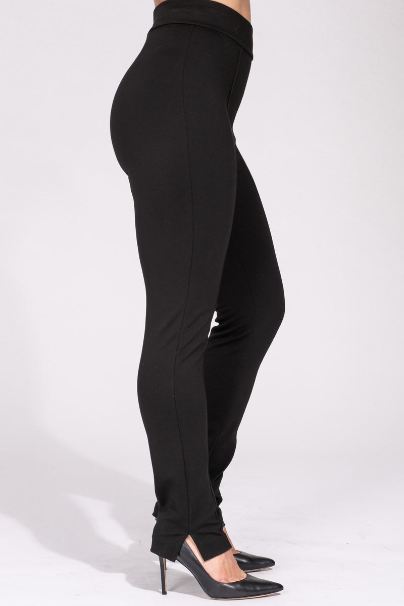 Sally slim stretch trousers - Black